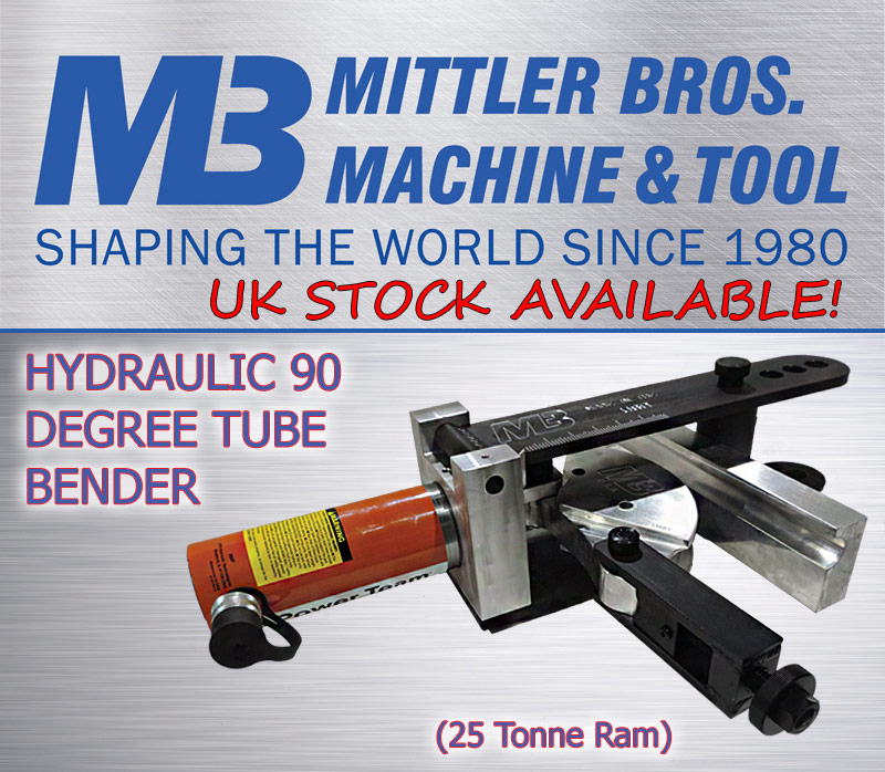 Mittler Bros. 90 Degree Tube Bender