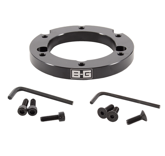 B-G Racing Eccentric Steering Wheel Spacer – 6 Hole