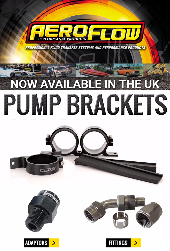 Aeroflow Performance Fuel Pump Brackets