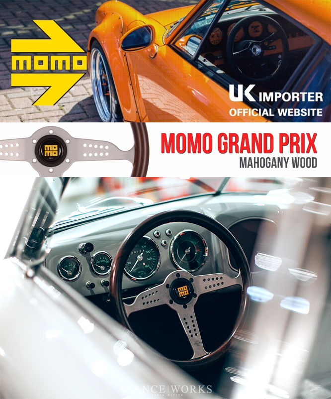 MOMO Grand Prix Steering Wheel