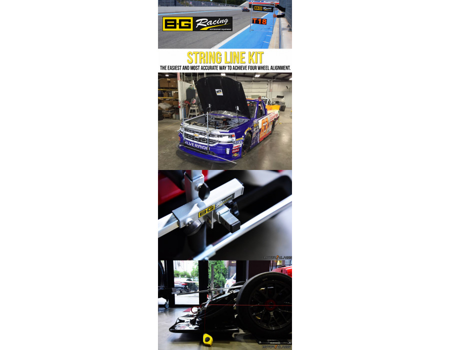 B-G Racing String Lines - The Ultimate Alignment Tool