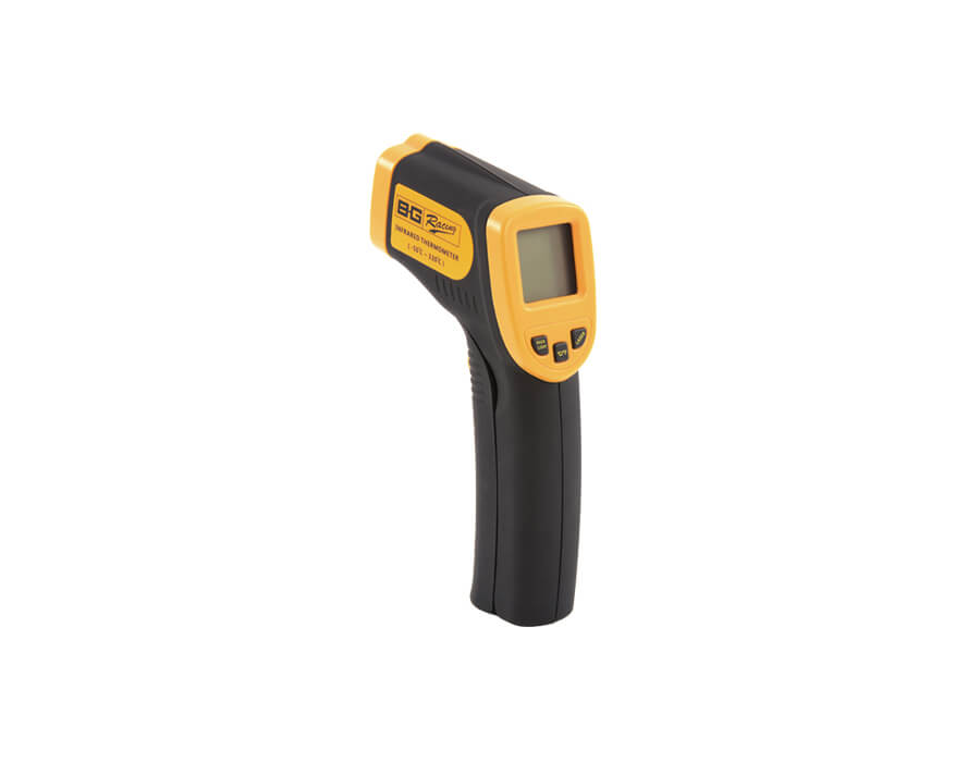 Tyre & brake temperatures are critical – Perfect tools for the job!