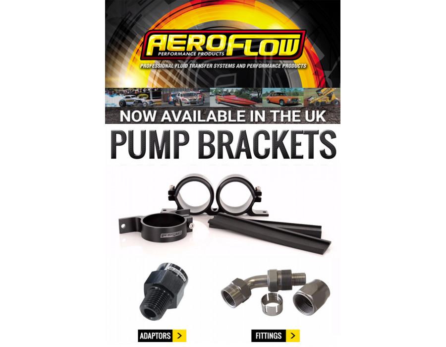 Aeroflow Performance Fuel Pump Brackets