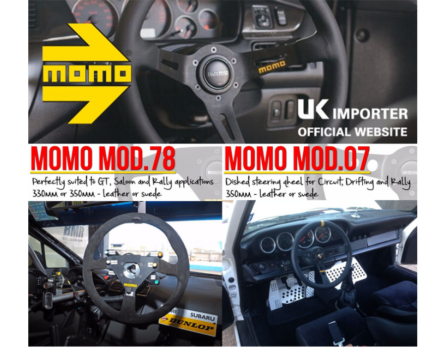MOMO Steering Wheels - The 2017 Season is Fast Approaching