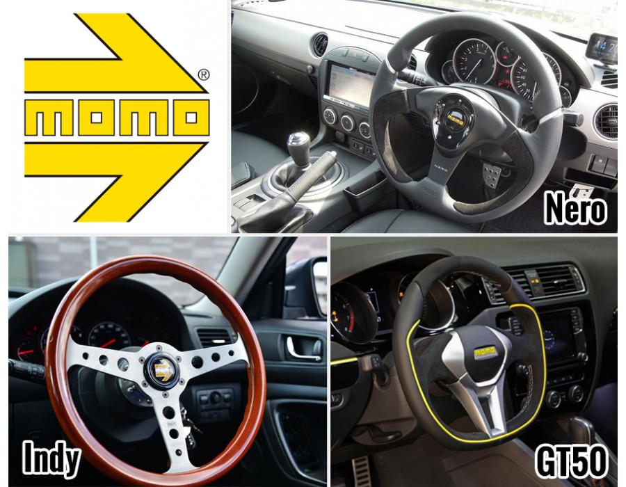 MOMO Tuning Steering Wheels