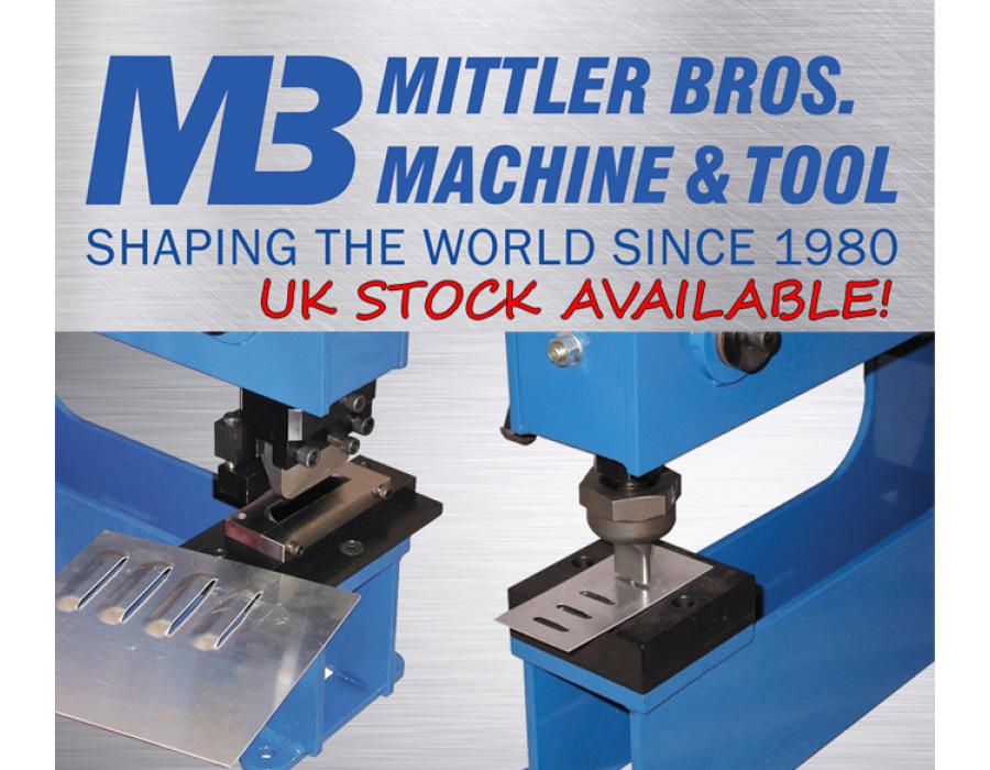 Mittler Bros. 3 Tonne Manual Bench Press Louvre Sets