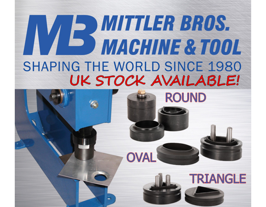 Mittler Bros. 3 Tonne Manual Bench Press Punch and Flare Sets