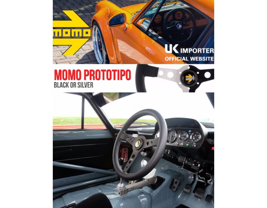 Momo Prototip Steering Wheel