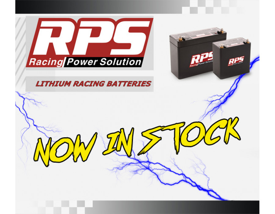RPS Lithium Battery Range - Now in stock