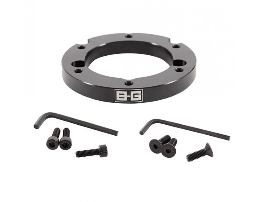 B-G Racing Eccentric Steering Wheel Spacer – 6 Hole