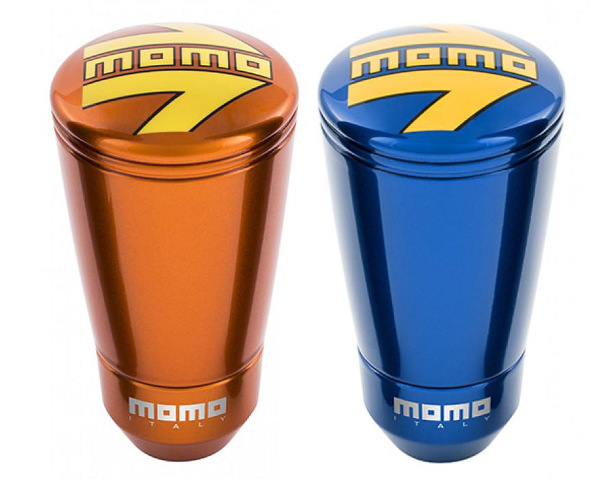 MOMO SK50 Gear Shift Knob - New Gloss Orange or Gloss Blue Finish