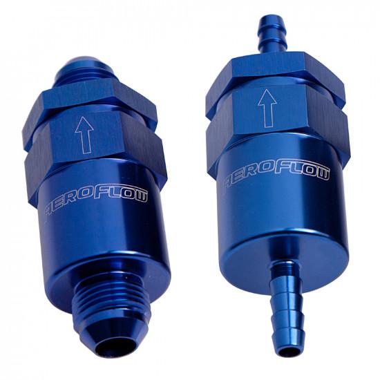 AN / Barb 30 Micron Billet Fuel Filter