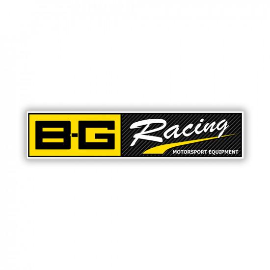 B-G Racing Sticker 30cm x 6.21cm