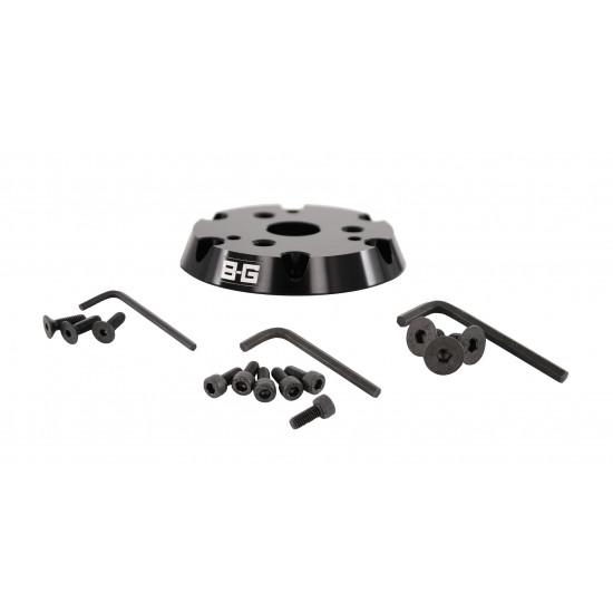 B-G Racing - Steering Wheel Adaptor - 6 to 3 point