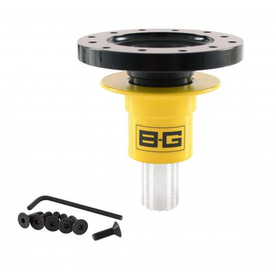B-G Racing - Steering Wheel Quick Release - Weld-On - 6 Point
