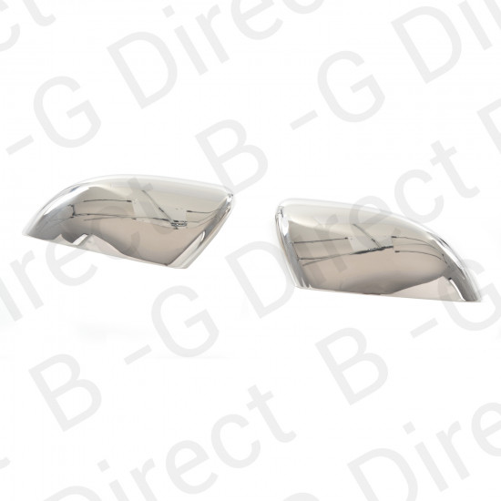 VW stainless steel wing mirror covers rhd 2pc